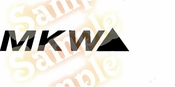MKW Vinyl Decal Car Performance Stickers