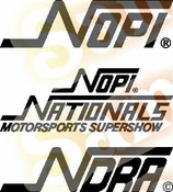 Nopi 2 Vinyl Decal Car Performance Stickers