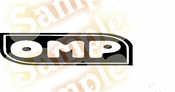 OMP Vinyl Decal Car Performance Stickers