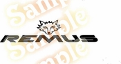 REMUS Vinyl Decal Car Performance Stickers