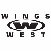 Wings West Car aftermarket logo Vinyl Decal Stickers