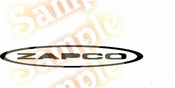 ZAPCO Vinyl Decal Car Performance Stickers