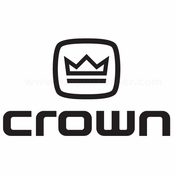 Crown Audio 3 Car audio Vinyl Decal Stickers