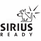Sirus Ready Car audio Vinyl Decal Stickers