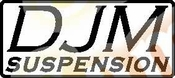 DJM SUSPENSIONS Vinyl Decal Car Performance Stickers