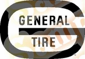 General Tire Vinyl Decal Car Performance Stickers