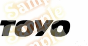 TOYO Vinyl Decal Car Performance Stickers