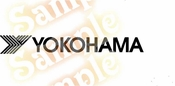 YOKOHAMA Vinyl Decal Car Performance Stickers