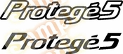 Prot�g� 5 Vinyl Decal Car Performance Stickers