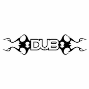 Dub Car aftermarket logo Vinyl Decal Stickers