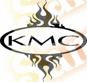 KMC Vinyl Decal Car Performance Stickers