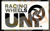 UNI Racing Wheels Vinyl Decal Car Performance Stickers