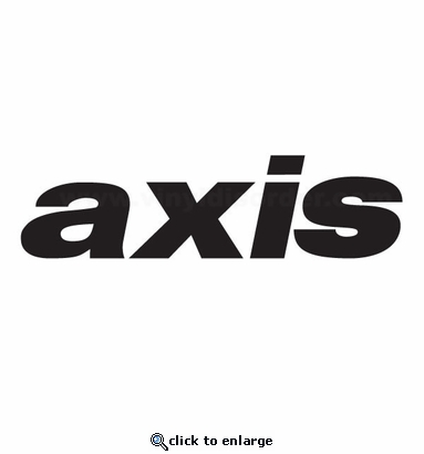 Axis Car aftermarket logo Vinyl Decal Stickers
