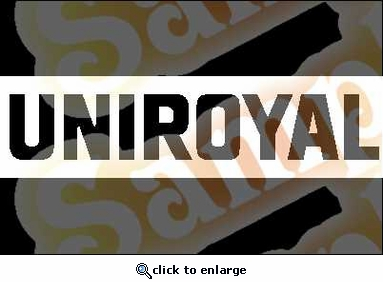 UNIROYAL Vinyl Decal Car Performance Stickers