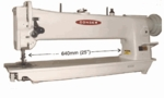 """Consew 206RBL-30"""" Longarm Compound Walking Foot & Needle Feed Industrial Sewing Machine"""