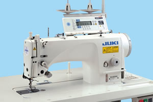 Juki DLN-9010A Direct-drive, High-speed, Needle-feed or Drop feed, Lockstitch Machine w/ Automatic Thread Trimmer , Backtack, Foot Lift