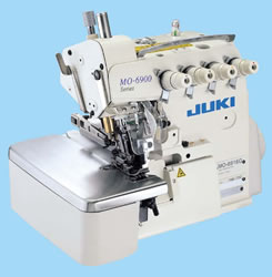 MO-6900J SERIES Bottom-feed, Overlock / Safety Stitch Machine for Extra Heavy-weight Materials