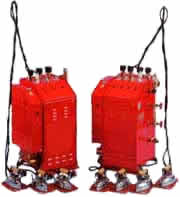 Pacific Steam 3 Iron Boilers (left in picture)