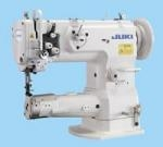 Juki LS-1341 Cylinder Bed Compound Needle Feed, Walking Foot Industrial Lockstitch Sewing Machine with Power Stand and Clutch Motor