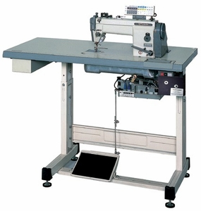 Mitsubishi LS2-1380 Single Needle Drop Feed Lockstitch Industrial Sewing Machine with Automatic Thread Trimmer