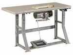 """Sewing Table with Motor for 25"""" and 30"""" Long Arm"""