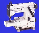 Singer 756U300 Cylinder Bed 3 Needle 5 Thread Industrial Sewing Machine & Bottom Coverstitch