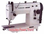 Singer 20U73 Best Buy Professional 9mm ZZ & SS                       Industrial Sewing with Knocked Down Stand and Clutch Motor