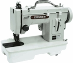Consew CP146R Portable Walking Foot SS $ ZZ All Metal Flatbed Sewing Machine like Sailrite, Thompson & Reliable 110V  -  OUT OF STOCK
