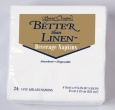 Better Than Linen White Beverage Napkins 24ct.
