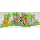 Jungle Pals Happy Birthday Oversized Paper Tabletop Centerpeice