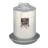 3 Gallon Galvanized Wall Fount