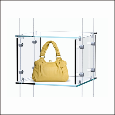 Hanging Clear Cubes for Bag