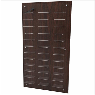 Wall mount shoe display panel 12 x 3 offered by cns retail for Sneaker wall display