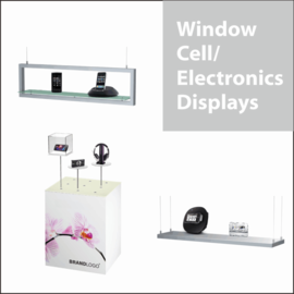 Window Electronics Displays