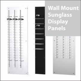 Wall Mount Sunglass Display Panels