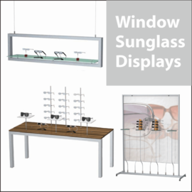 Window Sunglass Displays