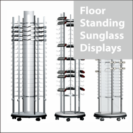 Floor-Standing Sunglass Displays