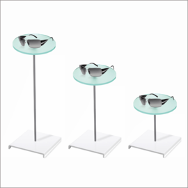 Cubo with Round Sunglass Platform