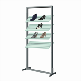 AR151 Shoe Display Shelf System