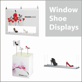 Window Shoe Displays