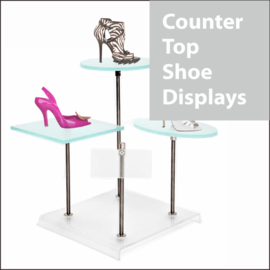 Countertop Shoe Displays