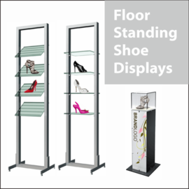 Floor-Standing Shoe Displays