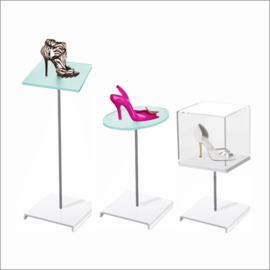 Cubo Floortop Shoe Display