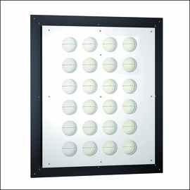 L.E.D. Illuminated Gallery Display Panels