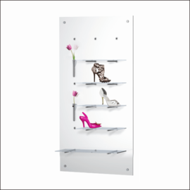 "Shoe Display Panel [POS-7-14] 27.5"" x 55"""