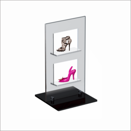 Windo-2 Counter Top Displays for Shoe