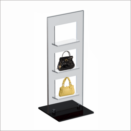 Windo-3 Counter Top Displays for Bag