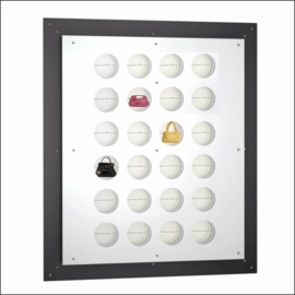 L.E.D. Illuminated Gallery Bag Display Panels