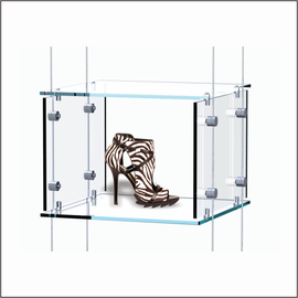Hanging Clear Cubes for Shoes