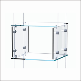Hanging Clear Cubes